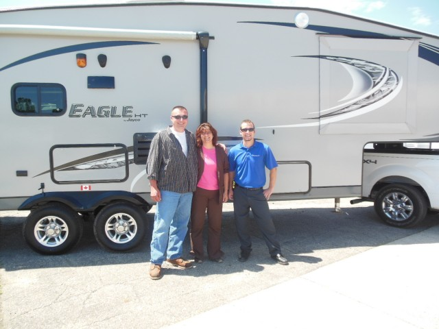 Kevin of Waterford with their Eagle HT 26.5RLS