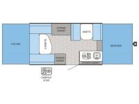 2016 Jay Series Sport 12UD Floor Plan