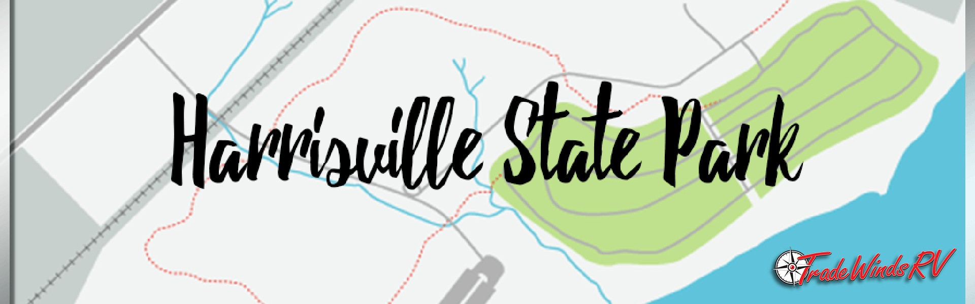 Harrisville State Park Banner