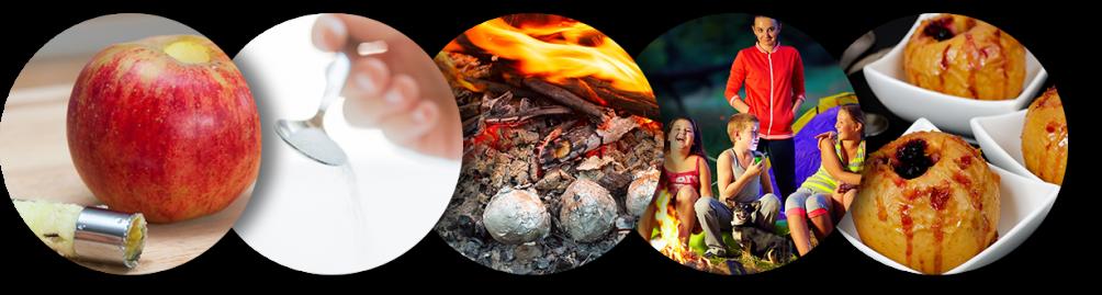 Apple Core Fire Campfire