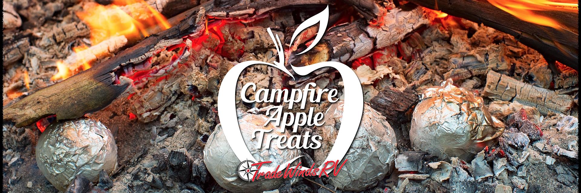 campfire apple treats banner