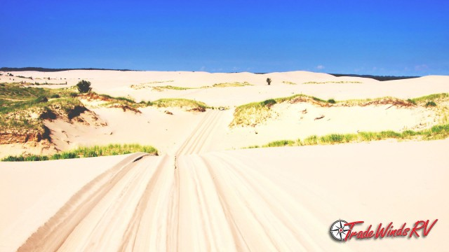 Silver Lake Sand Dunes Feature