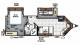 2017 Flagstaff Super V 26VFKS Floor Plan