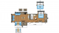2017 Eagle 320RLTS Floor Plan