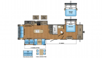 2017 Eagle 330RSTS Floor Plan