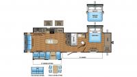 2017 Eagle 330RSTS Floor Plan