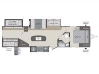 2015 Premier 34BHPR Floor Plan