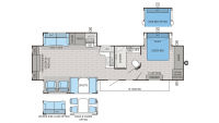 2016 Eagle 338RETS Floor Plan