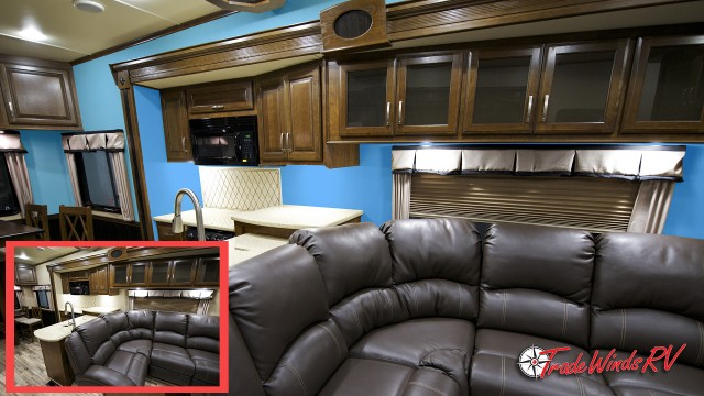 Before And After Painting Over RV Walls