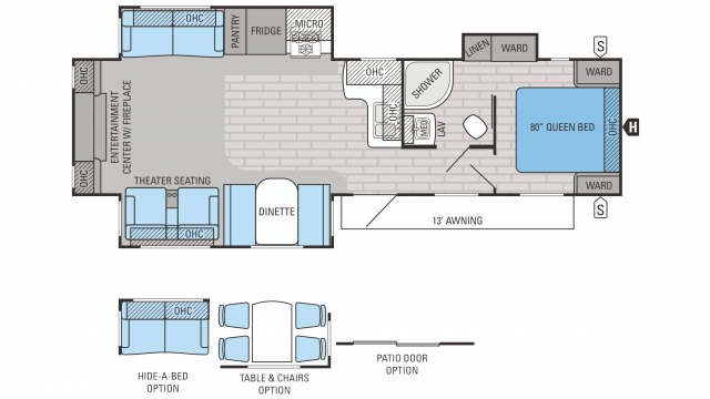 Jayco Jay Flight 2016 33rlds Floor Plan