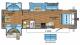 2017 Jay Flight 32TSBH Floor Plan