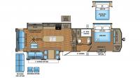 2017 Pinnacle 36KPTS Floor Plan
