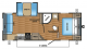 2017 Jay Flight SLX 245RLSW Floor Plan