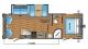 2017 Jay Flight SLX 265RLSW Floor Plan