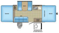 2017 Jay Sport 12SC Floor Plan