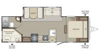 2016 Bullet 274BHS Floor Plan