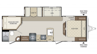 2017 Bullet 272BHS Floor Plan