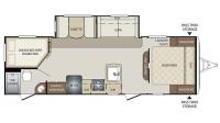 2017 Bullet 272BHS Floor Plan