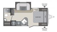 2017 Premier 19FBPR Floor Plan