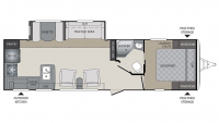 2017 Premier 29RKPR Floor Plan