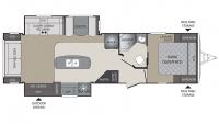 2017 Premier 30RIPR Floor Plan