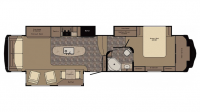 2017 Redwood 38RL Floor Plan