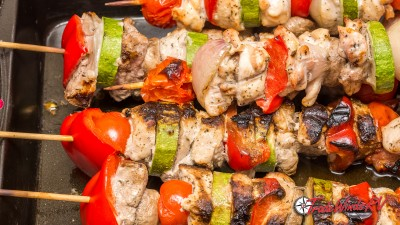 Chicken Fajitas On A Stick