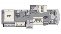 2017 FR3 32DS Floor Plan