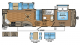 2017 Eagle 293RKDS Floor Plan
