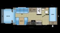 2017 Jay Feather X213 Floor Plan