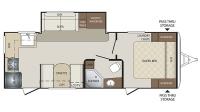 2017 Bullet 248RKS Floor Plan