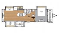 2017 Catalina Legacy Edition 333RETS Floor Plan