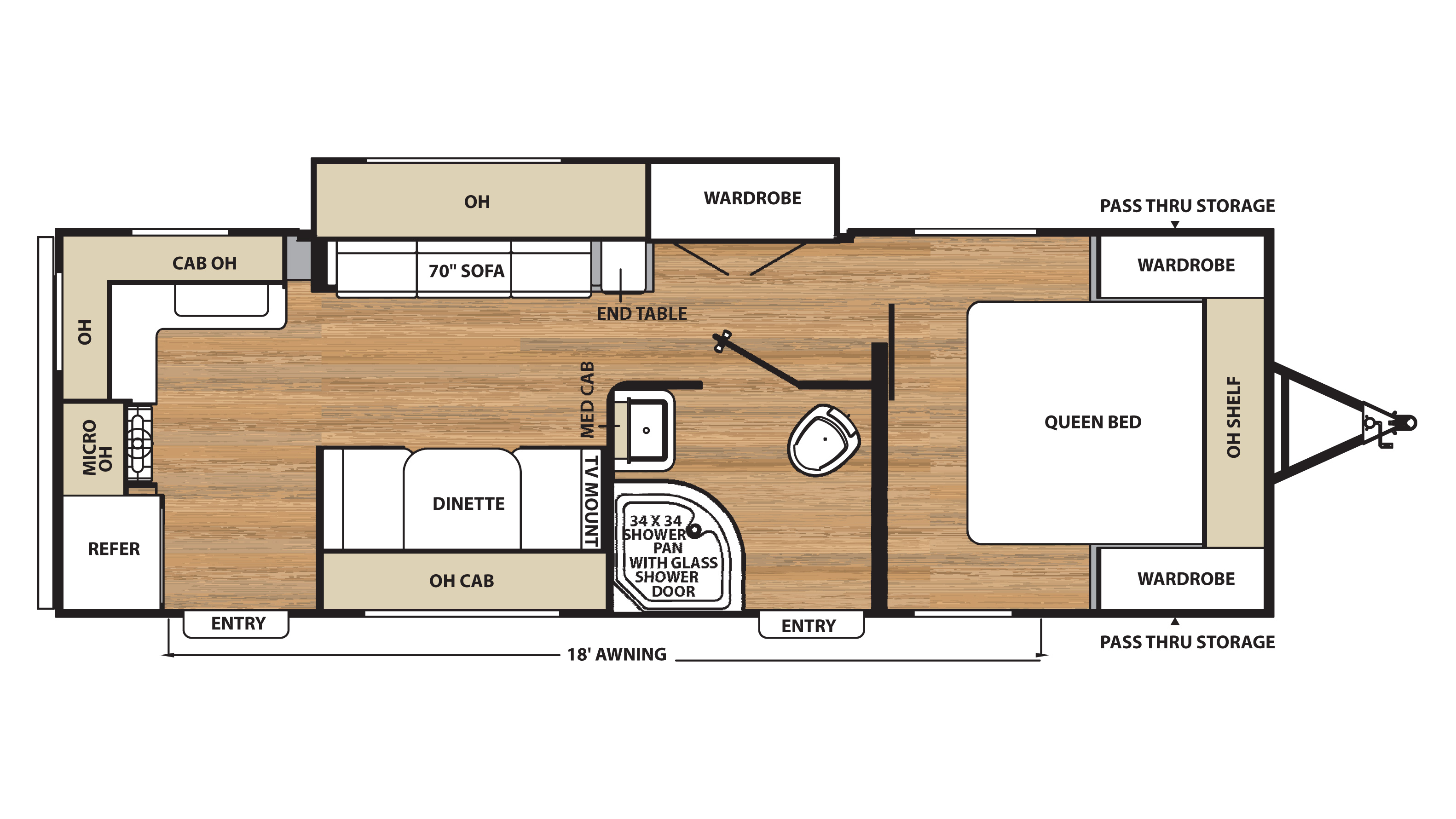 Coachmen travel trailer floor plans gurus floor for Rv blueprints