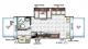 2017 Flagstaff Shamrock 24WS Floor Plan