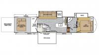 2017 XLR Nitro 42DS5 Floor Plan