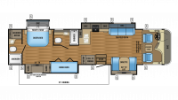2017 Precept 36T Floor Plan