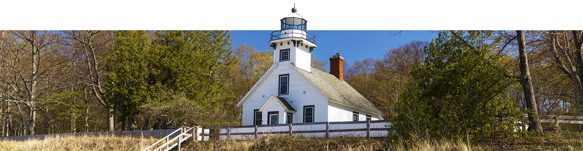 Mission Point Lighthouse in Northern Michigan