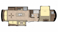 2017 Redwood 3401RL Floor Plan