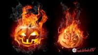 pumpkin bonfire
