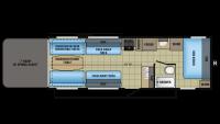 2017 Octane ZX Super Lite 265 Floor Plan