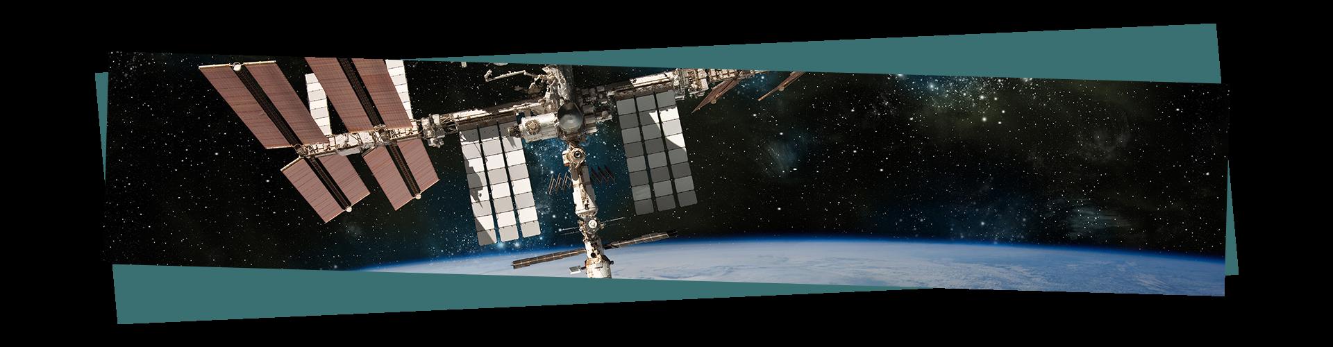 Winter stargazing - The International Space Station