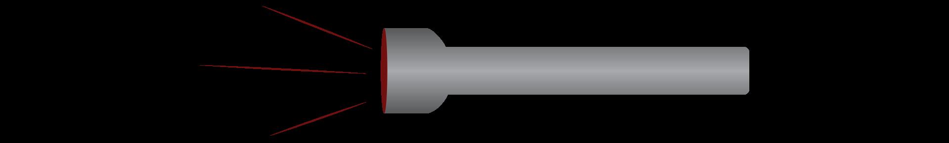 Red light flashlight