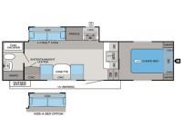 2013 Eagle HT 23.5RBS Floor Plan