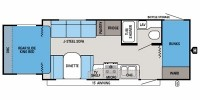 2013 Jay Feather X213 Floor Plan