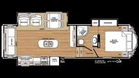 2019 Sierra HT 3250IK Floor Plan