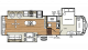 2018 Sierra 354RET Floor Plan