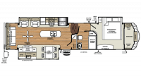 2019 Sierra 36ROK Floor Plan