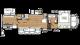 2018 Sierra 376BHOK Floor Plan
