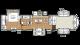 2017 Sierra 377FLIK Floor Plan