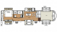 2019 Sierra 379FLOK Floor Plan